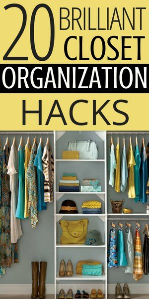 closet organization systems and tips