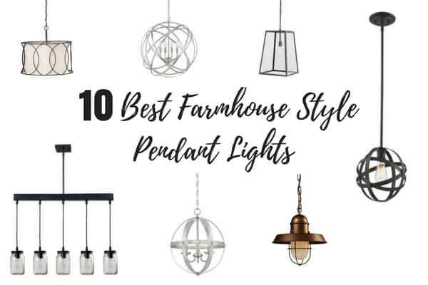 10 Best Farmhouse Style Pendant Lights Under $200