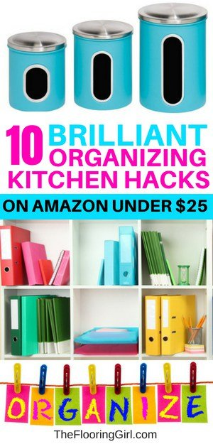10 brilliant kitchen organization kitchen hacks on amazon under $25