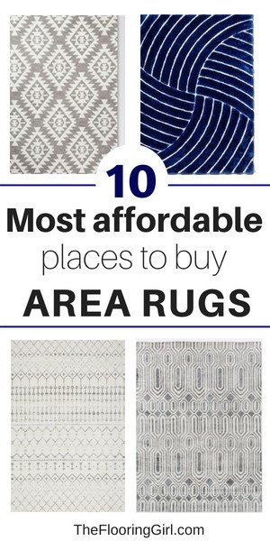 most affordable and best places to buy rugs online