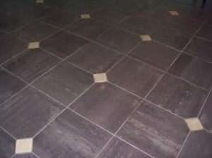 tile flooring with inserts westchester