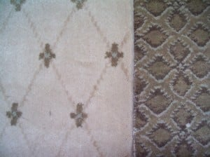 Carpet runner with border westchester