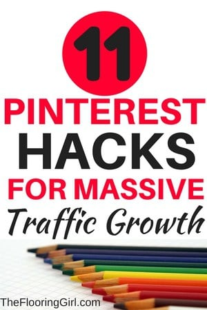 11 Pinterest Hacks for massive traffic growth