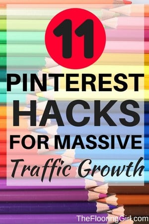 Hacks for Pinterest growth
