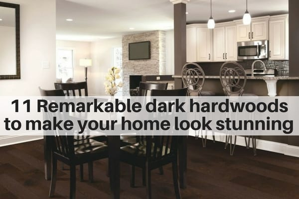 11 Remarkable dark hardwood floors to make your home look stunning