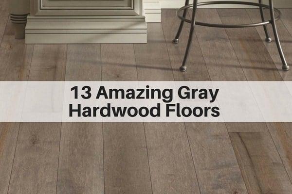 13 Amazing Gray Hardwood Floors You Can Buy Online The