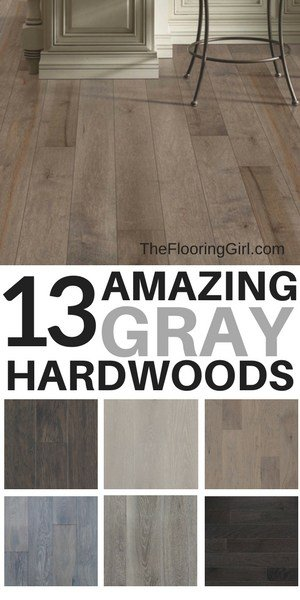 13 Amazing Gray Hardwood Floors and where you can buy them online