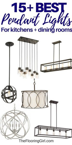 15+ best pendant lights for kitchens and dining rooms
