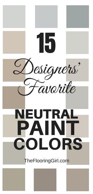 15 neutral paint colors that designers and decorators love
