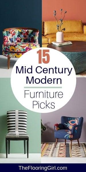 15 Mid Century Modern Furniture Picks from Anthropologie #midcenturymodern #decor #furniture #anthropologie #midcentury #homedecor