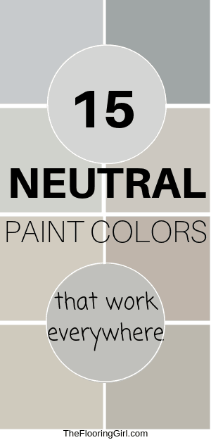 best neutral paint shades from Sherwin Williams