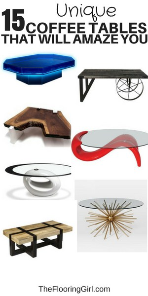 15 unique coffee tables that will amaze you