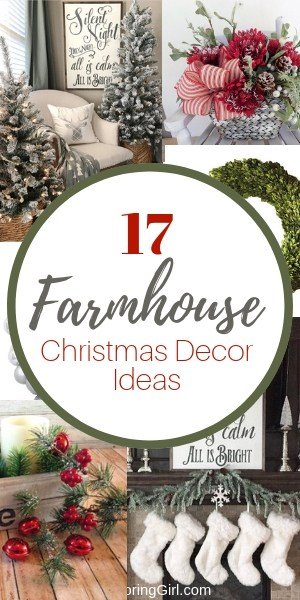 farmhouse decorating ideas for Christmas