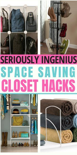 20 closet organization hacks to save space