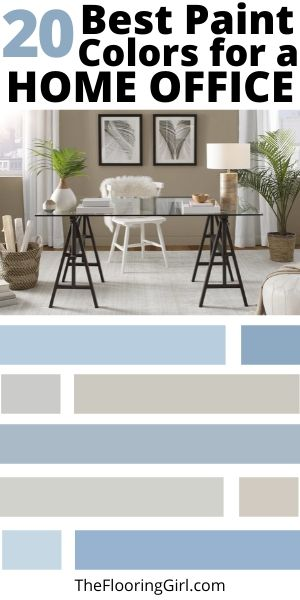 Best paint colors for a home office
