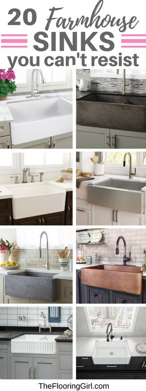 most popular farmhouse sinks for the kitchen