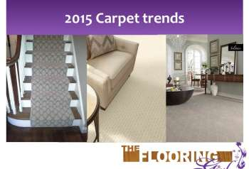 7 Carpet trends for 2015