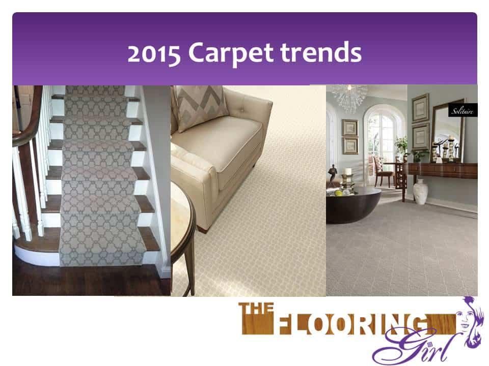 7 Carpet trends for 2015
