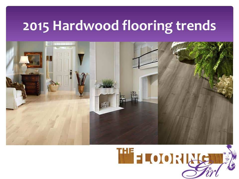 Hardwood flooring trends for 2015
