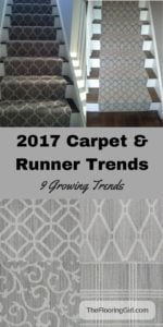 2017 Carpet area rug and runner trends
