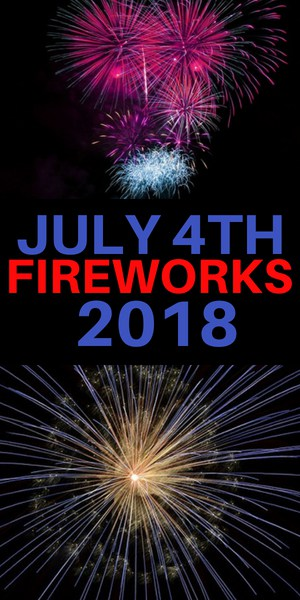 2018 4th of July Fireworks and Festivities - Scarsdale, Somers, Westchester County