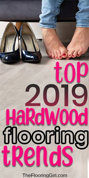 Hardwood flooring trends 2019