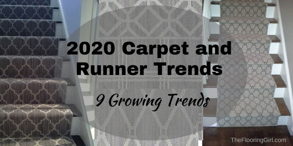 Carpet trends for 2020 (area rugs and runners)