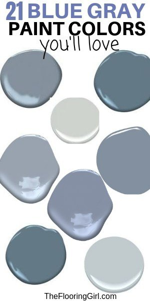 Best Blue Gray Paint Colors 21 Stylish Dusty Blues The