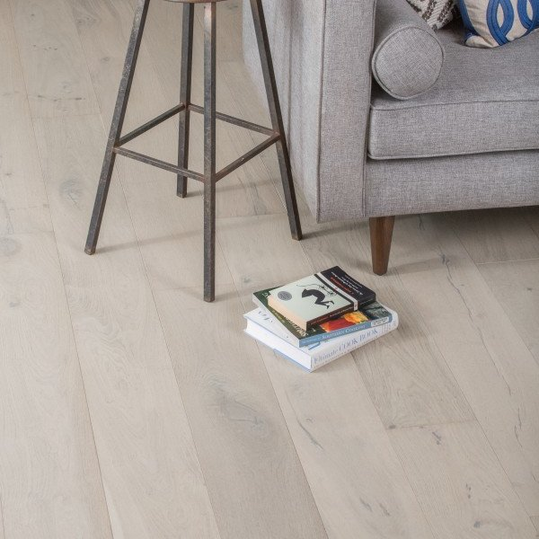 whitewashed wood flooring