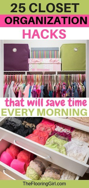 brilliant closet organization hacks that will save you time every morning