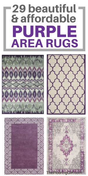29 beatiful and affordable purple area rugs