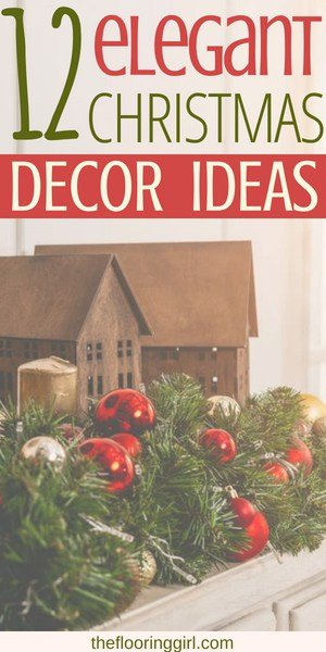 With Christmas right around the corner, it's time to start thinking about the decor items you want for your home this year. This elegant mix of beautiful Christmas decorations are sure to make your holiday gorgeous and merry!