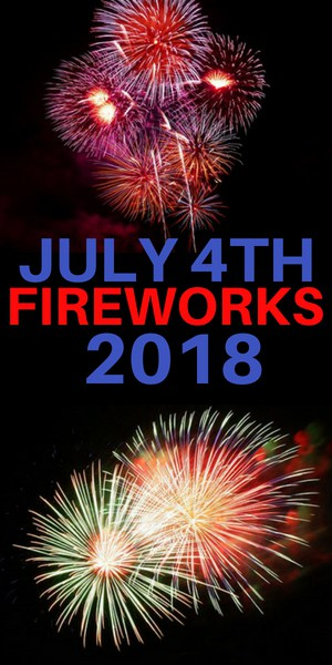 Fireworks in Westchester County for 4th of July 2018