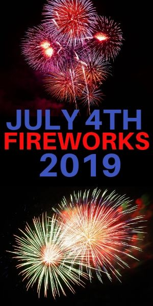 Fireworks in Westchester County for 4th of July 2019
