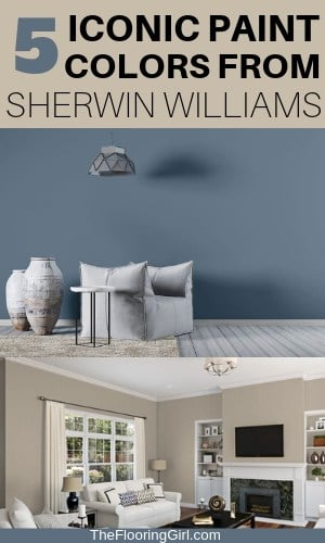 5 Iconic Paint Shades from Sherwin Williams - 2019