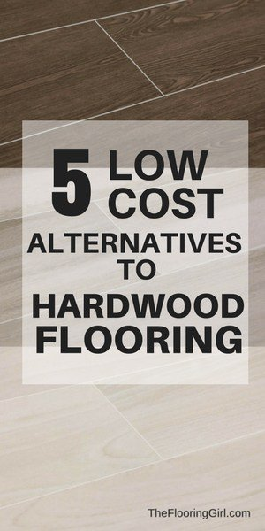 5 low cost alternatives to hardwood floors