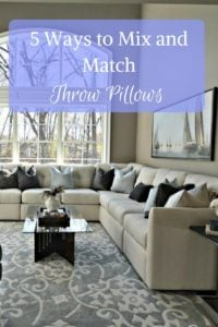 5 Ways to decorate with throw pillow