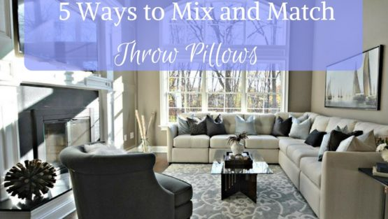 5 Ways to Decorate Throw Pillows for a fresh new look