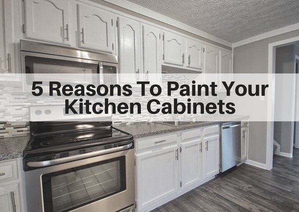 5 Reasons to Paint Your Kitchen Cabinets | The Flooring Girl