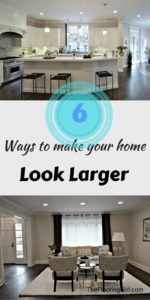 6 ways to make your home look larger