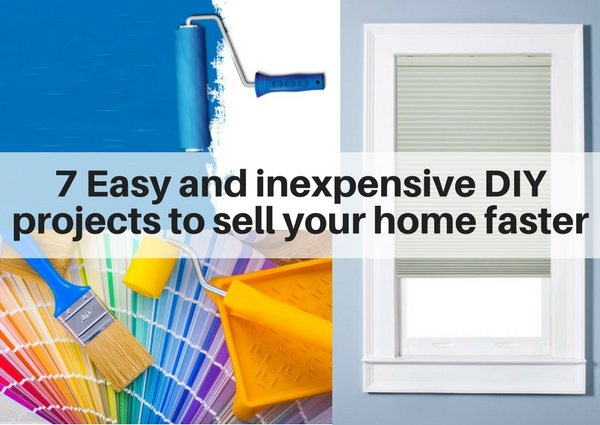 7 Easy And Inexpensive Diy Projects To Sell Your Home Faster The