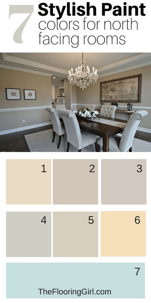 7 stylish paint colors for north facing rooms - northern exposure paint shades