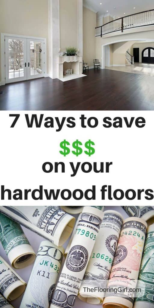 7 Ways to reduce the cost of your hardwood floors