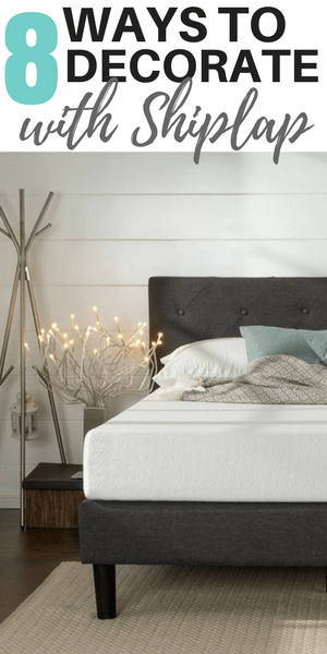 how to decorate with shiplap