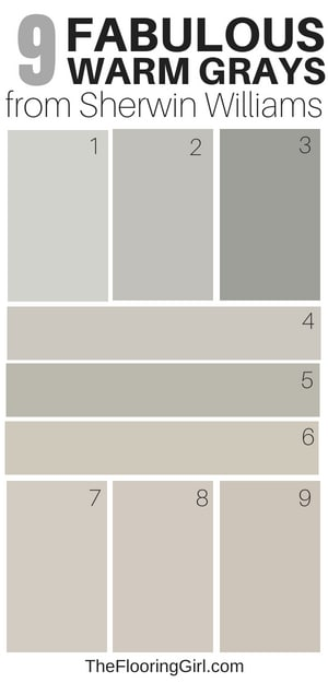 9 Amazing Warm Grays From Sherwin Williams Best Greige Shades Of Paint
