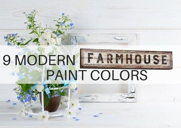 Farmhouse style paint colors and decor the flooring girl - Modern farmhouse kitchen colors ...