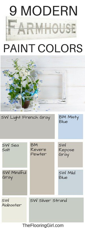 Best farmhouse paint colors