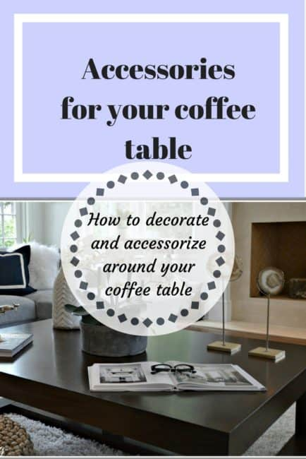 Accessories for coffee tables