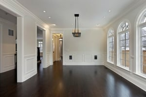dark hardwood floors and polyurethane