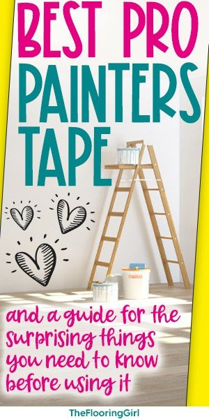 best painters tape for DIY painting jobs